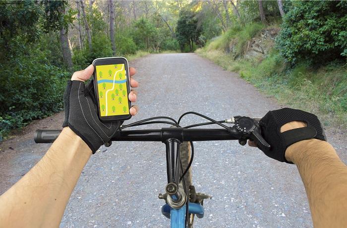 Navigationsapps Fahrrad