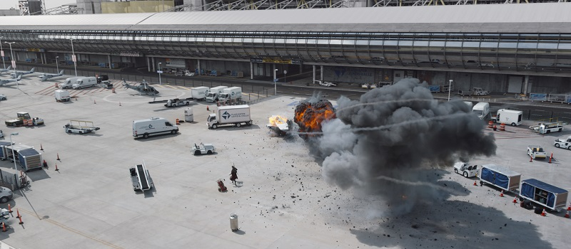 Captain America: Civil War - Explosion am Flughafen Leipzig
