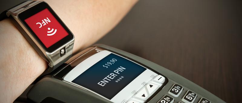 Per NFC über die Smartwatch zahlen