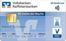 Girocard kontaktlos VR Banken