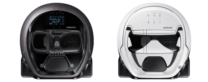 samsung bringt staubsauger roboter im darth vader look. Black Bedroom Furniture Sets. Home Design Ideas