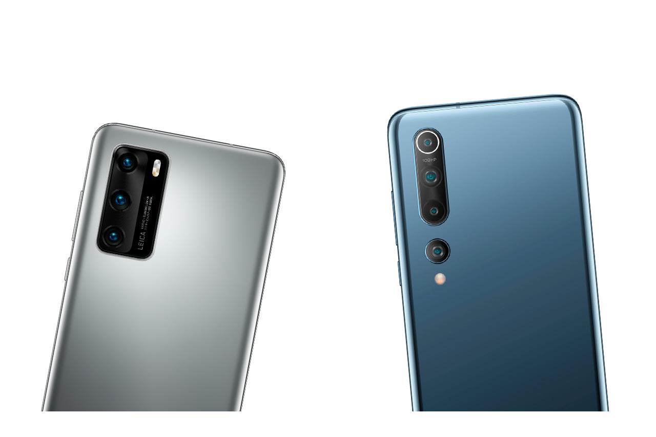 Die Kameras des Huawei P40 und Xiaomi Mi 10 im Vergleich
