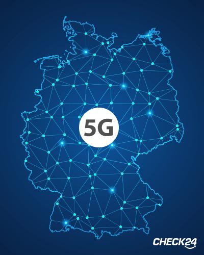 Wie weit sind die 5G-Netze in Deutschland ausgebaut?