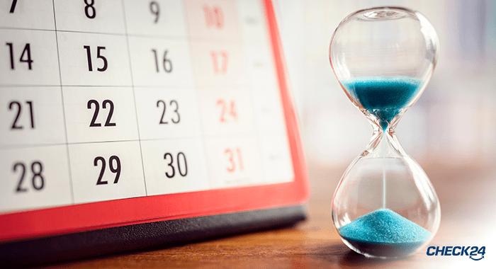 Schritt 1: Machen Sie Ihre Vertragslaufzeit ausfindig
