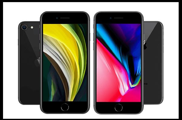 Das iPhone 8 stand Modell für das neue SE (2020)