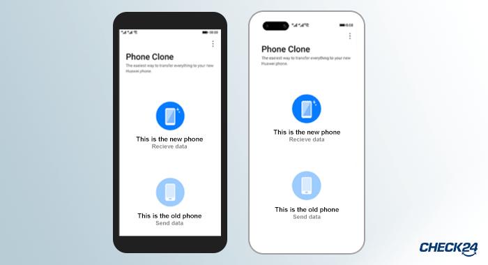 Übertragung der Kontakte per Phone Clone App