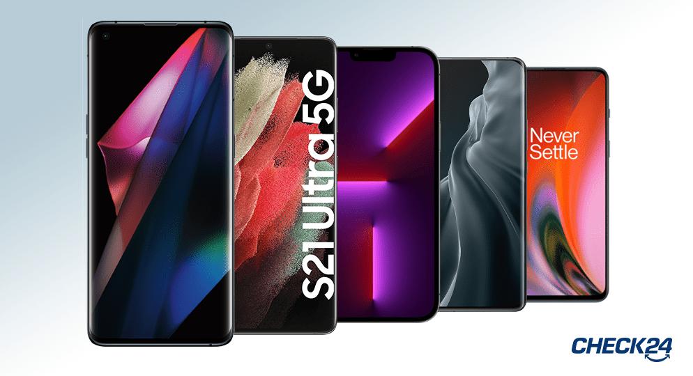 Handy Bestenliste: Unsere Top 10 Smartphones 2021 im Vergleich
