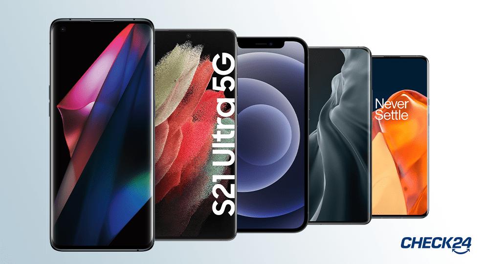 Handy Bestenliste 2021: Die 10 besten Smartphones im Vergleich