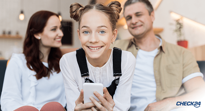 Handytarife für junge Leute - Wie alt muss man sein, um einen Handyvertrag abzuschließen?