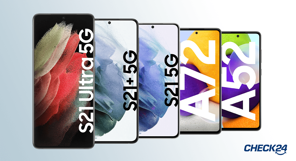 Neue Samsung Handy von galaxy s21Ultra 5G bis Galaxy A52
