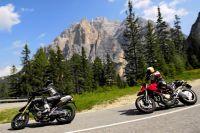 Risikoreiches Vergnügen: Gerade Motorradfahrer sollten sich mit einer privaten Unfallversicherung schützen.