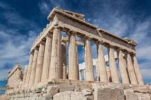 Akropolis in Athen, der Hauptstadt Griechenlands