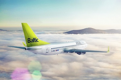 Boeing 737 von Air Baltic