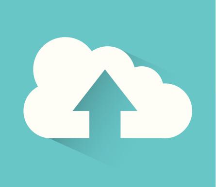 Daten in die Cloud zu laden, benötigt eine gute Upload-Rate