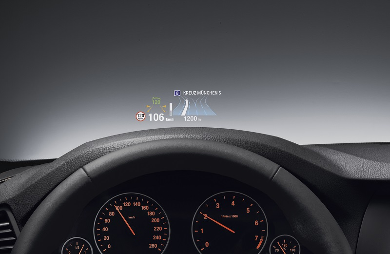 BMW Head-up-Display