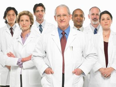 Gruppe von Ärzten