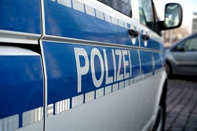 Polizeiwagen seitlich