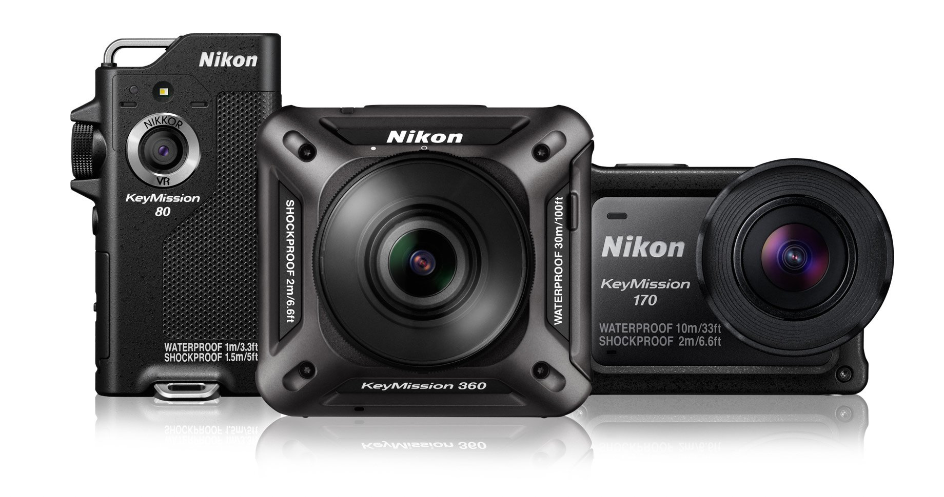Nikon KeyMission Action-Cams