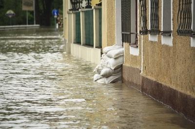 Hochwasser Haus