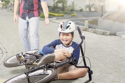 Kind Unfall Fahrrad