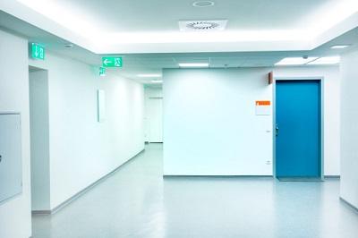 Korridor in Krankenhaus