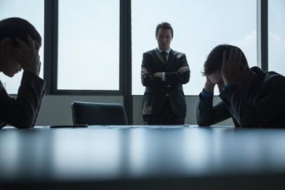 Angestellte-gestresst