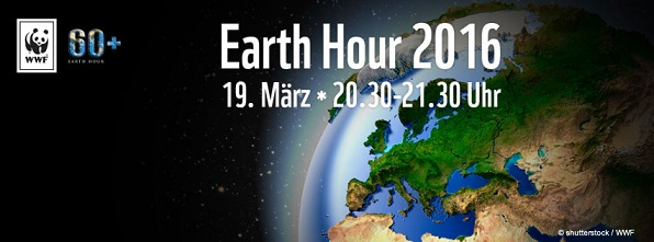 Earth Hour 2016 - Strom sparen