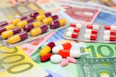 Tabletten-Geldscheine