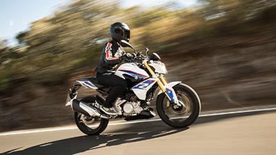 Leicht und günstig: die neue G 310 R. Foto: BMW