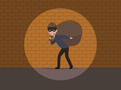 Manche Einbrecher überführen sich selbst.