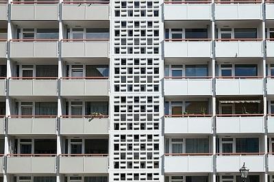 Reihenhaus mit Balkonen