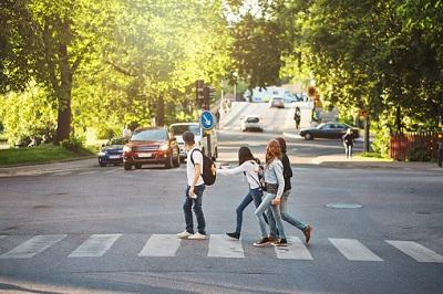 Jugendlich im Straßenverkehr