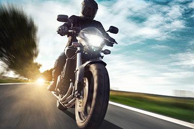 ADAC vermietet Motorräder