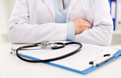 Arzt-Vertrag-Stethoskop