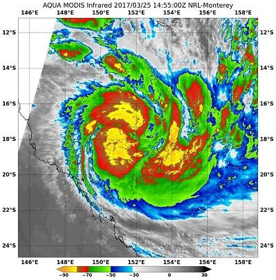 Tausende Australier fliehen vor Zyklon