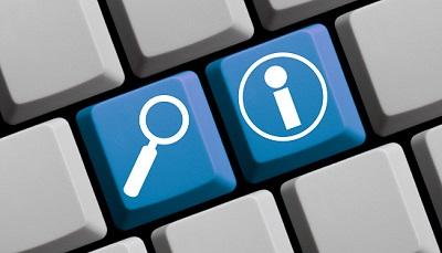 Info-Icon auf Tastatur
