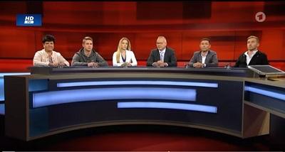 Screenshot ARD-Sendung