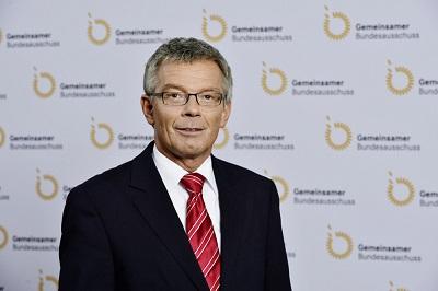 Josef Hecken, Vorsitzender des GBA (Quelle: Gemeinsamer Bundesausschuss)
