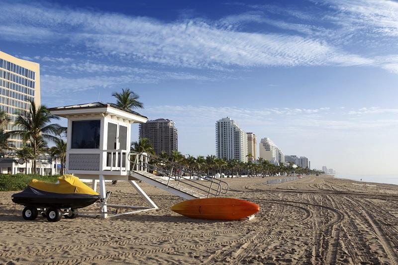 Florida Ostküste Strand