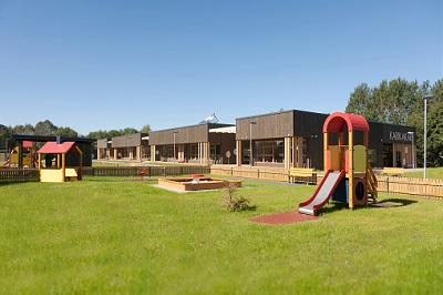 Kindergarten in Außenansicht