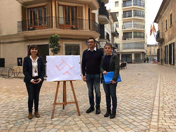 Mallorca Manacor Altstadt autifrei