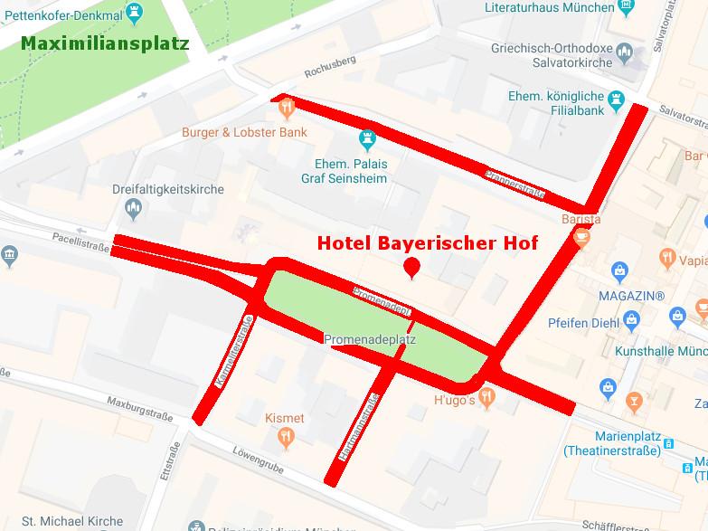Karte München Straßensperrungen Sicherheitskonferenz