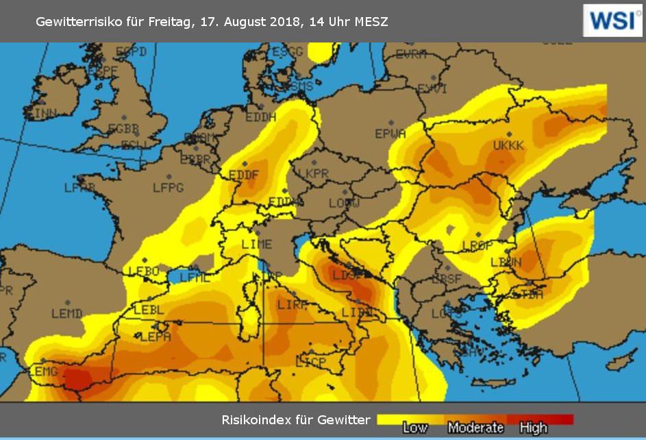 Mallorca Unwetter Karte.Unwetterwarnung Mallorca Drohen Am Freitag Flugausfälle Und