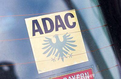 ADAC-Aufkleber