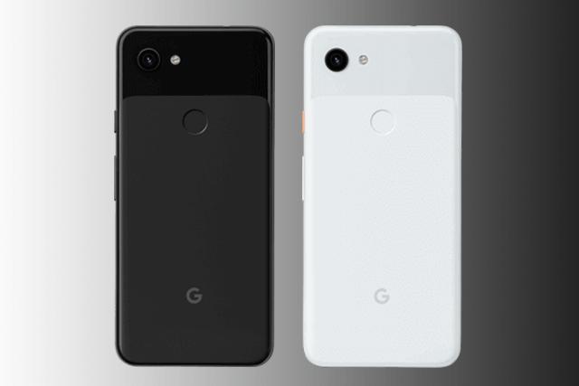 Google Pixel 3a in schwarz und weiß