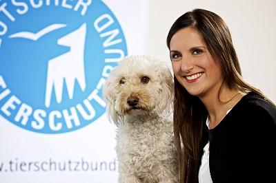 Lea Schmitz vom Deutschen Tierschutzbund