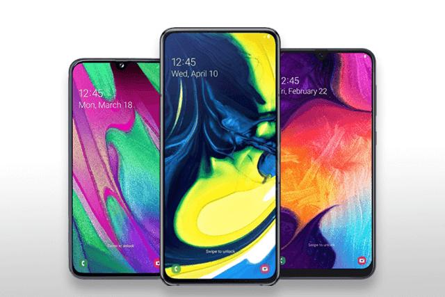 Das Samsung Galaxy A40, A80 und A50 im Vergleich