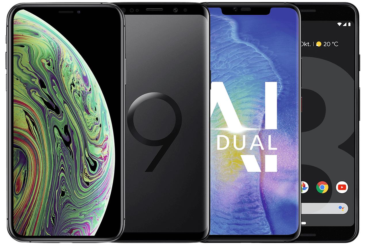 Die 4 Top-Smarthones