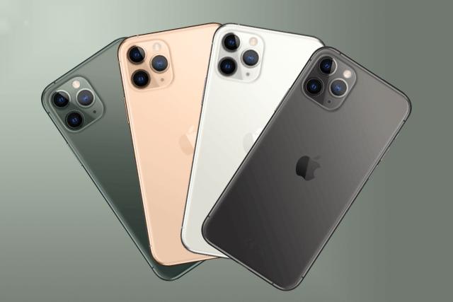 Das iPhone 11 Pro in Spacegrey, Silber, Gold und Nachtgrün