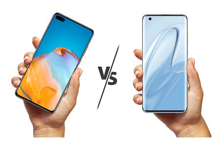 Xiaomi Mi10 vs. Huawei P40